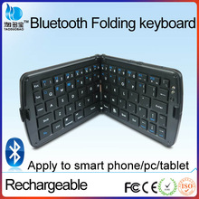 wholesale vatop rechargeable white and black portable wireless mini foldbale bluetooth 4.0 keyboard for ipad mobile phone