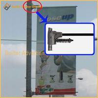 aluminum advertising flag clamp
