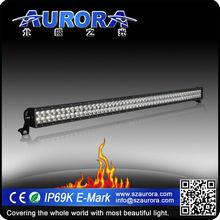 Aurora IP69K waterproof 50inch 500W LED dual row motorcycle name brands