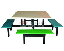 Hot Selling Perspex Dining Table and Chairs Furniture for School