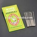 guindaste branco agulhas de costura agulhas para máquinas