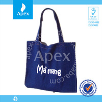 2014 hot sale heavy duty canvas tote bag