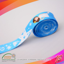 Rich pattern printed silicone elastic band