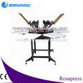 Rs-sy6 6 estações carrossel preços máquina de impressão da tela