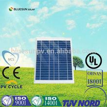 A Grade Bluesun high quality 12V poly solar panel 10w