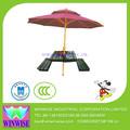ws11250 tavolo da giardino e ombrellone
