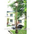 Extérieur lampe ronde poste,/lampe de jardin japonais/imperméable à l'eau lampe de jardin
