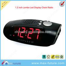 LED Retro alarm clock radio with support mp3 audio spaker(F-1754)