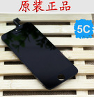 OEM mobile lcd and digitizer replacement parts for iphone 5c back cover housing replacement