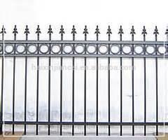 Aço de alta qualidade cerca e grades