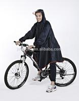 rain poncho with logo bike poncho nylon rain suit black rain poncho