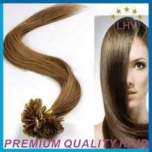 wholesale top quality cheap high ratio double drawn nail tip hair extension hair extensions u tip hair