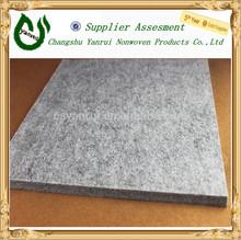 500g wool nonwoven carpet/felt fabric for hotel