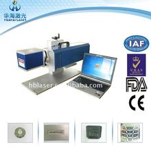 Mini printing machine HG-10W Co2 Laser expire date printer plastic bottle laser printing machine