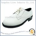 2014 nuevo estilo de vestido de los zapatos blancos para hombre