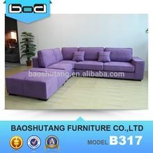 luxury style home fabric living room sofa B317