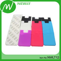 2014 Most popular purse card holder adhesive smart wallet phone