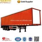 Guangdong GOLDEN 13m Tri Axle, Side Curtain, Dry Bulk Cargo Semi Trailer