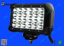 China automobile 7inch 72w led light bar passat b5 headlight