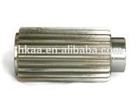 custom stainless steel drive wheel shaft ,motor extension shaft