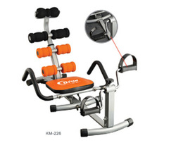 home fitness exercise equipment/environmental fitness/ total core deluxe abdominal trainer