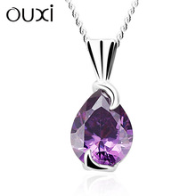 Modern fashion silver chain necklace Made With Swarovski elements Y30195 only the pendant