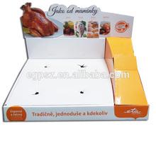 Hot sale corrugated pot rack/pants display rack/cake pan shelf