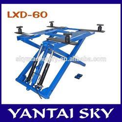 alibaba express scissor car lift/cheap car lifts/small platform scissor lift