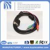 vga rca converter cable ,vga to 3rca adapter, vga to 3 rca audio video cable,scart to vga converter 1.5M