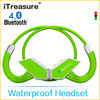 iTreasure lithium battery bluetooth earphone with high quality