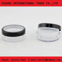 New fantastic design of plastic empty compact powder case