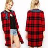 Wholesale lady oem apparel 2014 korean style fashion women coat