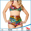 Rainbow Zebra Pinup super sexi hot bikini girl photo models
