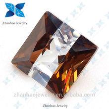 china glass stone different fashion shinning loose cubic zirconia stones cushion cut multicolor cubic zirconia stone