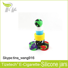 Non stick high quality custom silicone rubber container for concentrate,wax oil