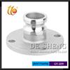Factory Supplier Aluminum Quick Coupling Round Flange