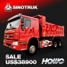 2015 New sinotruk howo 10 wheeler dump truck for sale