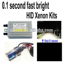 0.1 second 55w fast bright hid kit h16 15000k