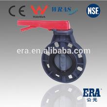 Professional China Manufactory ERA UPVC valve Upvc Butterfly Valves