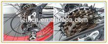"2014 18-speed Beach Cruiser 19"" Fat Tire Bike Fatboy Bicycle Big Tire Snow Bike White with Orange Rim"