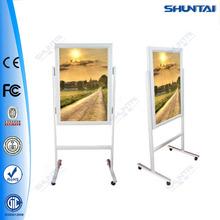 Hot sale indoor led snap frame poster stand sign