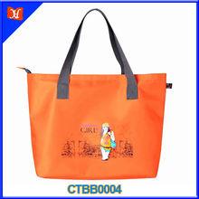 2014 New Style Big Capacity Diaper Bag Folding Canvas Beach Bag