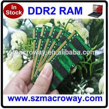 ETT original chips tested 2x1GB pc2700 ddr laptop memory 2gb