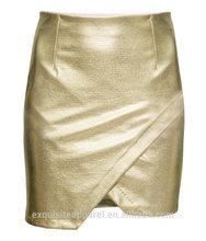 2015 high quality women PU skirt slim fit pencile skirt for women hot sell women skirt