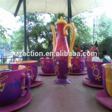 coffee cup model kids ride of amusement park