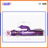 girls masturbation sex rabbit vibrator with 360 rotation and thrust