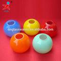 De vidrio de color de bola cortinas de la lámpara/pequeño de vidrio de color de la lámpara