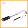 Brand new motorcycle pitbike dirt bike exhaust muffler with pipe alloy CNC