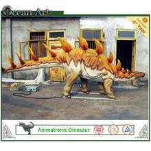 Vivid Simulation Dinosaur Video Beautiful Park Dinosaur