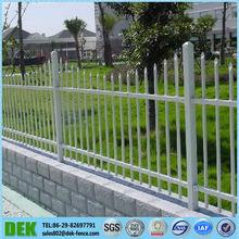 wrought iron picket fences